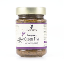 Sanchon Bio Currypaste Green Thai 190g