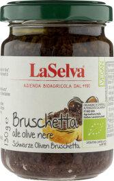 LaSelva Bruschetta schwarze Oliven 130g
