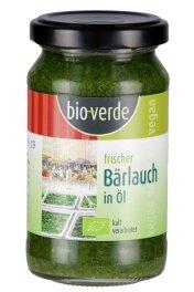 Bio-Verde Bio Frischer Bärlauch in Öl 165g