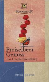 Sonnentor Bio Preiselbeer Genuss Tee 18x 2,8g