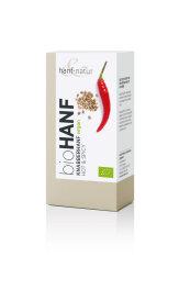 Hanf Natur Bio Knabberhanf Hot & Spice 100g