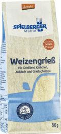 Spielberger Weizengrieß, demeter 500g
