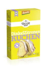 Bauckhof Demeter Dinkel Zitronenkuchen Bio Backmischung 485g