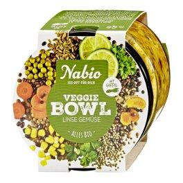 Nabio Veggie Bowl Linse Gemüse 235 g