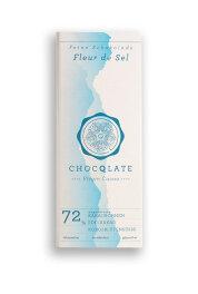 Chocqlate Virgin Cacao Schoko. Fleur de Sel 75 g