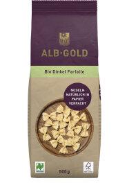 ALB-GOLD Farfalle Dinkel Papierverpackung 500 g