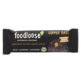 foodloose Coffe Date Nussriegel 35 g