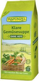 Rapunzel Bio Klare Suppe ohne Hefe Nachfüllpack 500g
