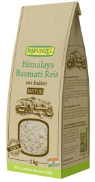 Rapunzel Bio Basmati Reis Natur 1kg