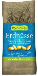 Rapunzel Bio Erdnüsse geröstet & gesalzen 75g