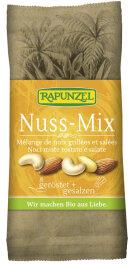 Rapunzel Bio Nuss-Mix geröstet & gesalzen 60g