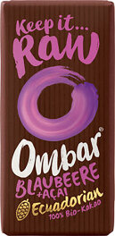 Ombar Bio Acai & Blaubeere Roh-Schokolade 35g
