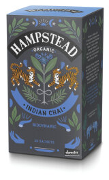Hampstead Tea Energy Chai Schwarzer Tee 20x 2g