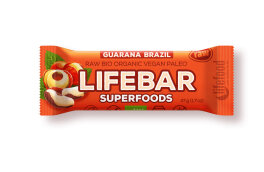 Lifefood Lifebar Plus Brazil & Guarana Bio 47g
