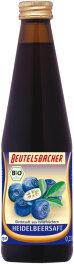Beutelsbacher Heidelbeer naturtrüb 330ml