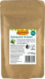 Birkengold Zahnpulver Kräuter NFP 100g