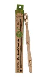 Birkengold Bambuszahnbürste Borsten Rizinusöl 1Stk