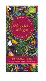 Chocolate and Love Panama 80% Dark 80g