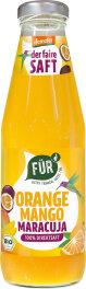 FÜR Gutes trinken - Gutes tun Orange Mango Maracuja...