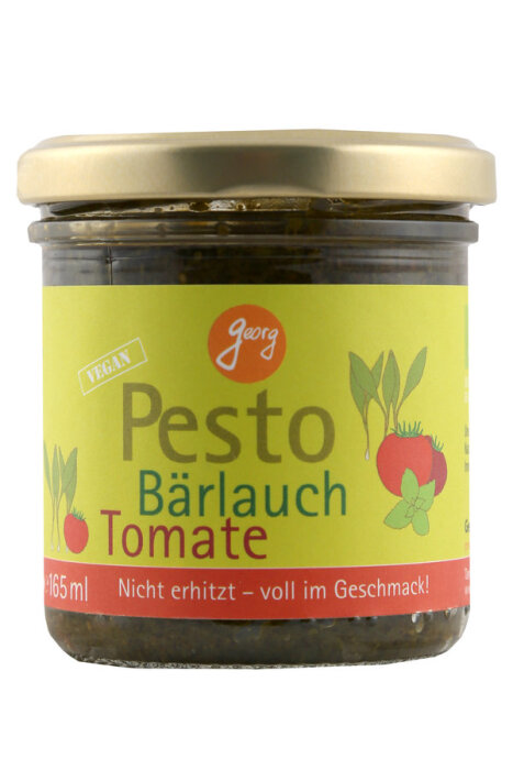 Georg Pesto Bärlauch Tomate 165ml