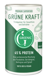 Greenic Grüne Kraft Trinkpulver Mischung 150g