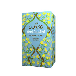 Pukka Bio Drei Fenchel Tee 20 Beutel