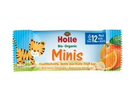 Holle Minis Banane Orange 100g