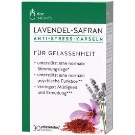 doc®phytolabor Lavendel-Safran ANTI-STRESS Kapseln 30Stk