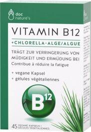 doc natures Vitamin B12 Chlorella Kapseln 45Stk