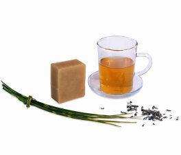 LENN & LEVIA Feste Shampooseife - Grüner Tee 100g