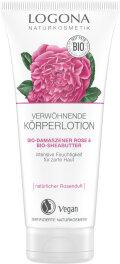 Logona Körperlotion Rose & Sheabutter 200ml