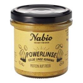 Nabio Proteinaufstrich Linse Kurkuma 140g