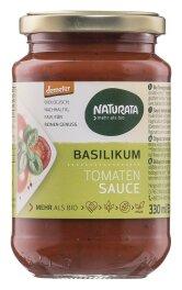 Naturata Basilikum Tomatensauce demeter 330ml