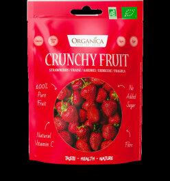 Organica Erdbeere gefriergetrocknet 50g
