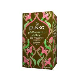 Pukka Bio Pfefferminz & Süßholz Tee 20 Beutel