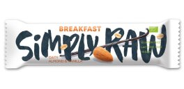 Simply Raw Breakfast Almond Vanille Riegel 40g
