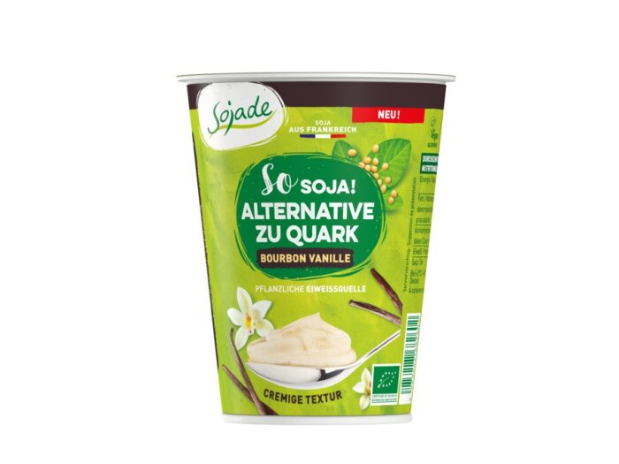 Sojade Alternative zu Quark Vanille 400g