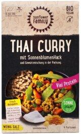 SunflowerFamily Sonnenblumenhack Thai Curry 112g