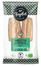 LAngelus Mehrkorn-Baguettes zum Aufbacken 2x 200g Bio