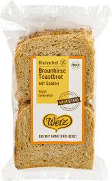 Werz Braunhirse Toastbrot glutenfrei 250g