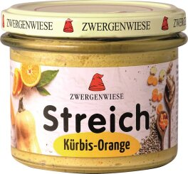 Zwergenwiese Kürbis Orange Streich 180g