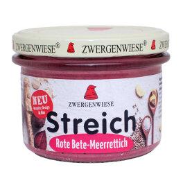 Zwergenwiese Rote Bete Meerrettich Streich 180g