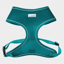 Doodlebone® Airmesh Hundegeschirr - Blaugrün;...