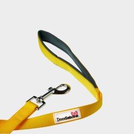 Doodlebone® Bold gepolsterte Leine - Gelb;...