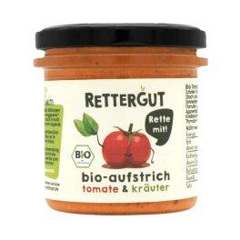 Rettergut Bio Aufstrich Tomate & Kräuter 135g