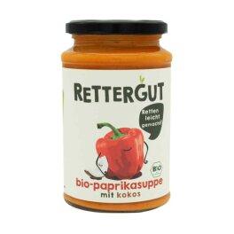 Rettergut Bio Suppe Paprika mit Kokos 390g