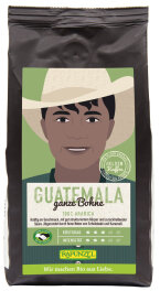 Rapunzel Bio Heldenkaffee Guatemala ganze Bohne 250g
