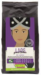 Rapunzel Bio Heldenkaffee Laos ganze Bohne 250g