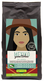 Rapunzel Bio Heldenkaffee Mexiko ganze Bohne 250g