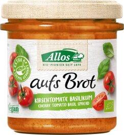 Allos Aufs Brot Tomate & Basilikum 140g